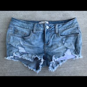 Victoria's Secret Pink Ripped Shorts
